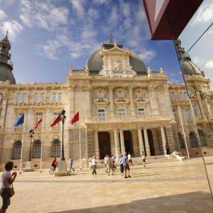 Cartagena. Ayuntamiento – Fachada principal